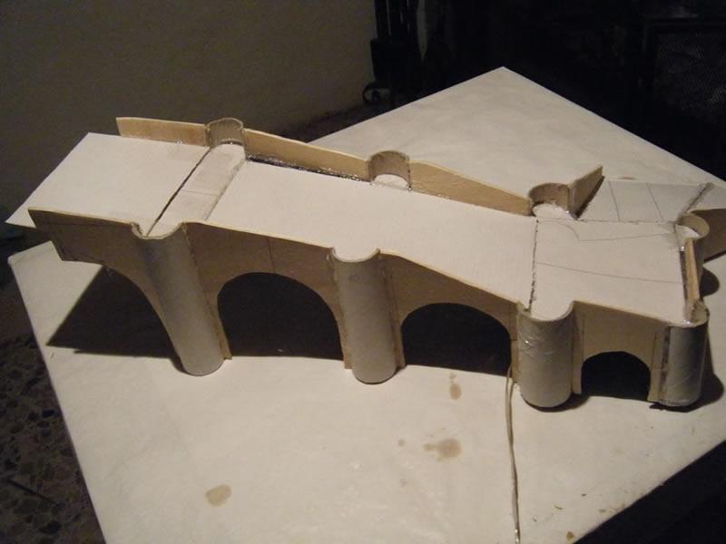 Paso a paso de la construcci n de un puente for Construccion de piletas paso a paso
