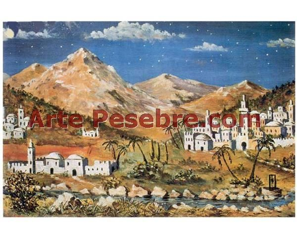 7de4b36c68a Fondo papel paisaje – Arte Pesebre